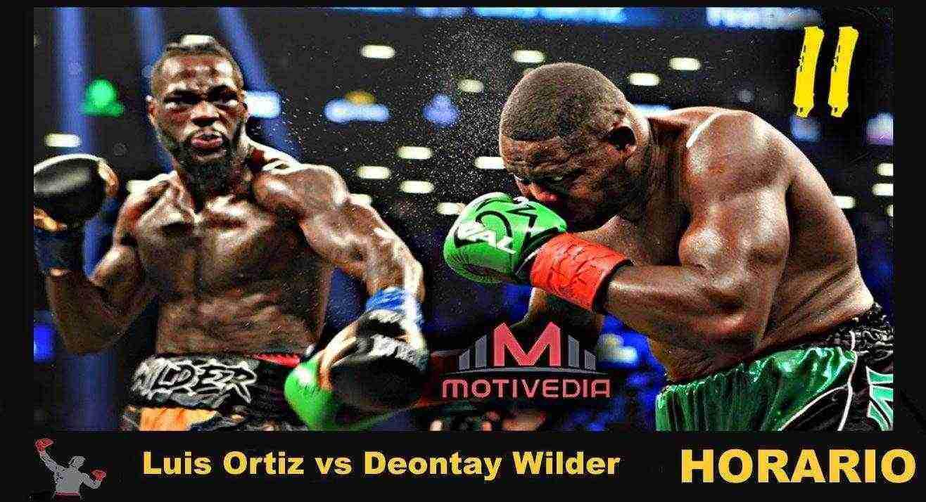 Hora ⌚ Luis 'King Kong' Ortiz vs Deontay Wilder