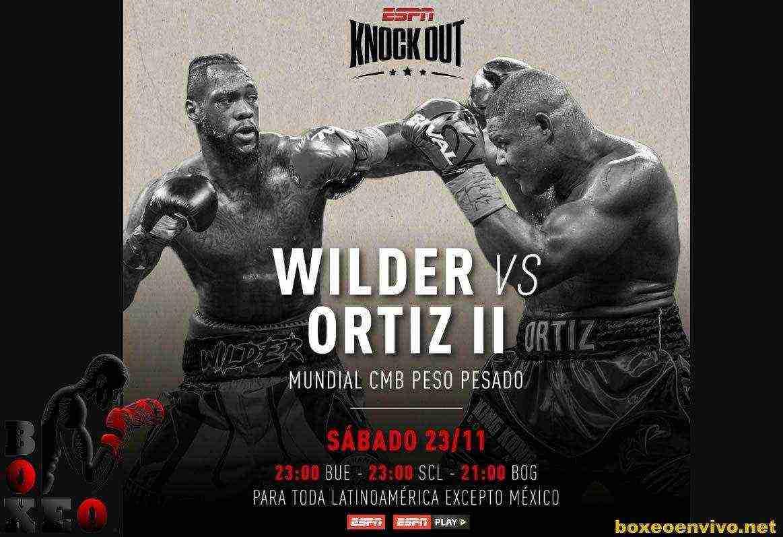 Deontay Wilder vs  Luis Ortiz se enfrentarán en un EXPLOSIVO COMBATE que se podrá ver Vivo por ESPN