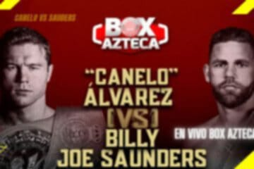 canelo vs sauder en vivo por tv azteca