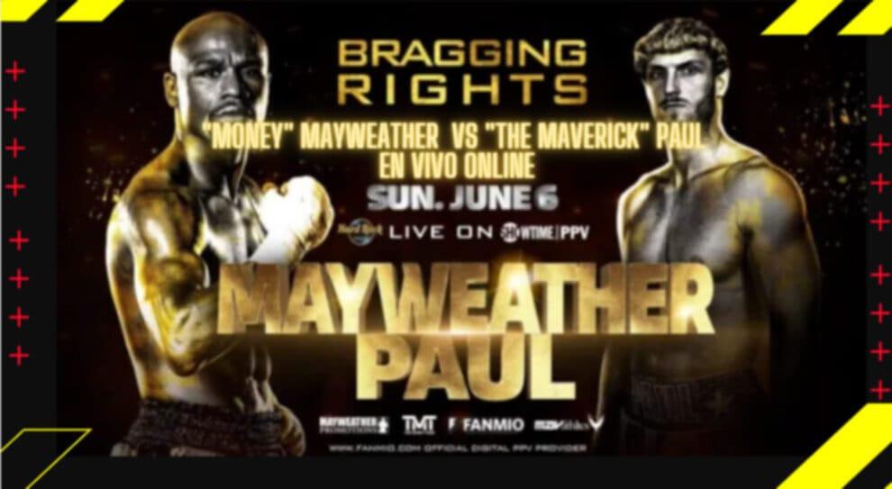 "Floyd ""Money"" Mayweather vs Logan ""The Maverick"" Paul en Vivo Online -  Boxeo en Vivo"