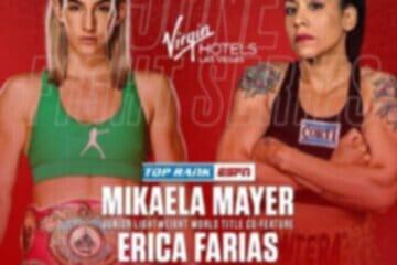 Erica La Pantera Farias vs Mikaela Mayer