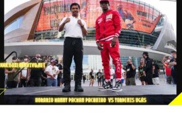 Horario Manny Pacman Pacquiao vs Yordenis Ugás