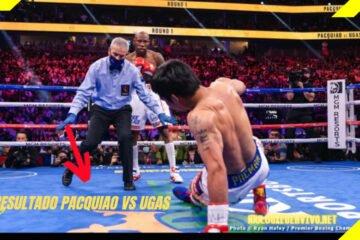 Resultado Pacquiao vs Ugas