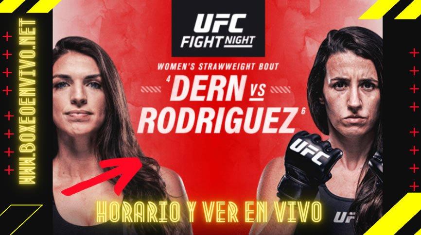 Horario y Ver en VIVO UFC  Vegas 39